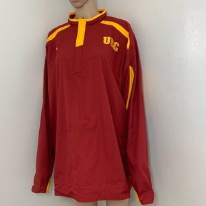 Nike Dri-Fit USC Trojans Zip Windbreaker Jacket